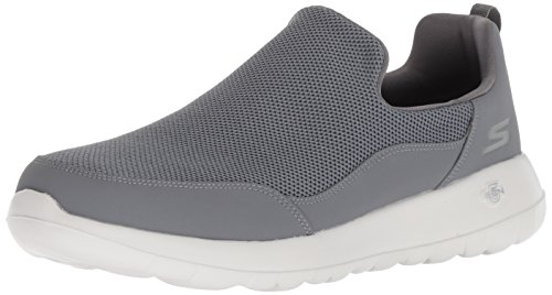 Charcoal Herren on Skechers Max Walk Grau Sneaker Charcoal Privy Go Slip zxddOwYSq