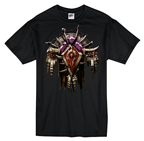 World-of-War-Craft-Horde-Crest-Mens-T-Shirt