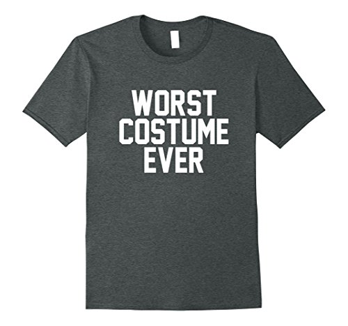 Skanky Mens Costumes (Mens Worst Costume Ever Shirt for Halloween 3XL Dark Heather)