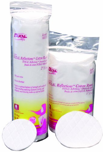 Dukal Reflections? Cotton Rounds, 2'', Non-Sterile, 80/bg 48bgs/cs 48 pcs sku# 1304125MA by Dukal