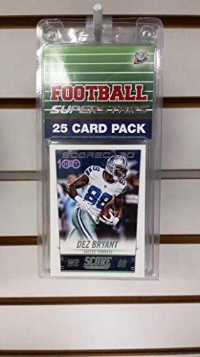 (25) Twenty Five Card Pack Football Dallas Cowboys Superstars Starter Kit - Cowboys Starter