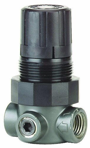 Regulators High Pressure Air (Dwyer Series MPR Miniature Pressure Regulator, Zinc Body, Air Only, Range 0-15 psi)