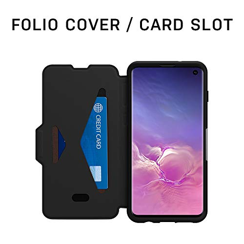 OtterBox STRADA SERIES Case for Galaxy S10+ - Retail Packaging - SHADOW (BLACK/PEWTER) by OtterBox (Image #5)