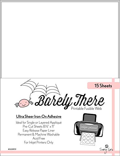 (Swirly Girls Design SGDBT01 Fusible Web Barely There Pre-Cut)