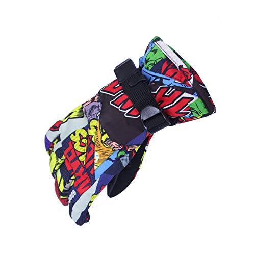 9b898a6e8 Petsdelite® Gsou Snow Brand Children Ski Gloves Kids Boys And Girls Snowboard  Gloves Waterproof Warmth