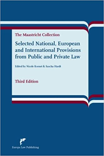Selected National, European and International Provisions