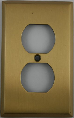(Classic Accents Antique Brass 1 Gang Duplex (Outlet) Wall)