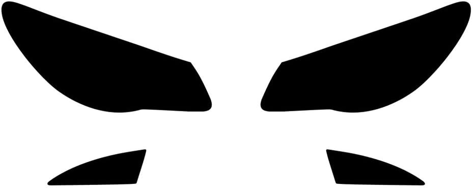 Application Kit Sedan Rvinyl Rtint Headlight Tint Covers for Hyundai Elantra 2007-2010