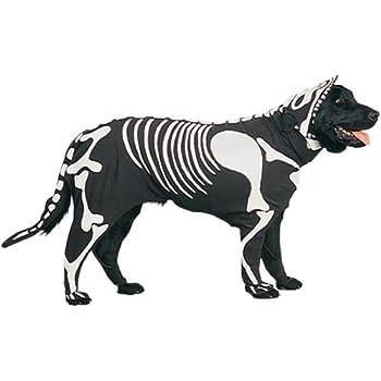 Pet Skeleton Dog Halloween Costume (Size: Small)