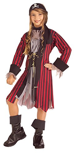 Rubies Caribbean Princess Child Costume, Medium