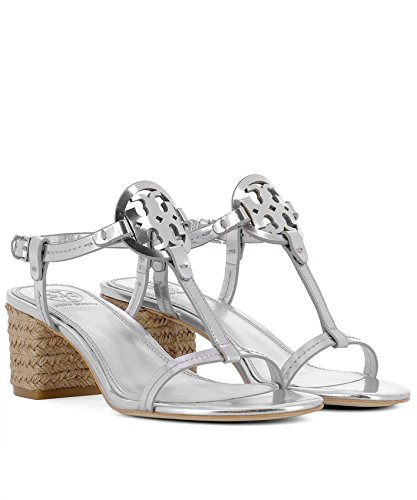 aae5cc07a7c9d Tory Burch Women s 47744040 Silver Leather Sandals discount with paypal  clearance from china outlet many kinds ...