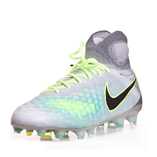 buy online b4de2 25a54 Amazon.com  Nike Mens Magista Obra II Firm Ground Cleats Pure Platinum  (9)  Soccer