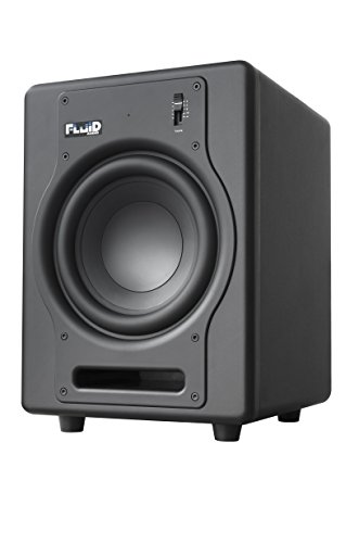 Fluid Audio F8S - 8'' Active Subwoofer, Black by Fluid Audio