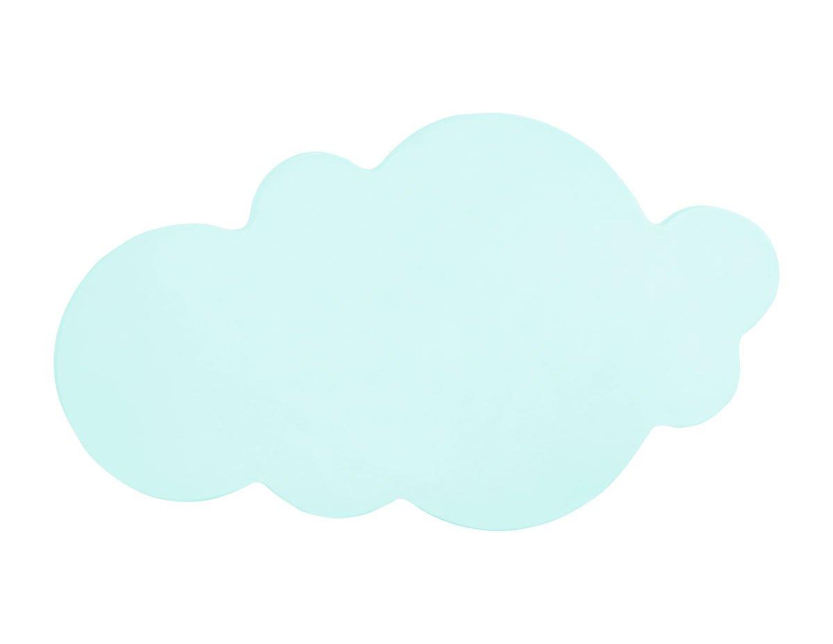 Bainba lampada da parete per bambini a forma di nuvola blu