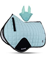 GLP Mint Numnah Saddle Pads Collection with Matchy Veils/Horse Saddle Pad