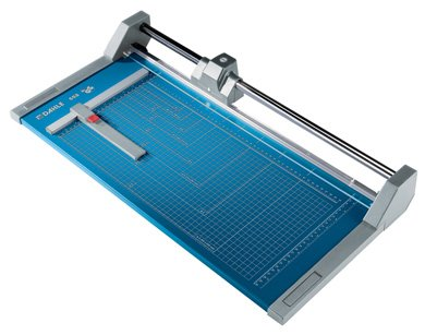 Dahle 554 Professional Rolling Trimmer Model 554 20 Sheet Capacity 28 1/4