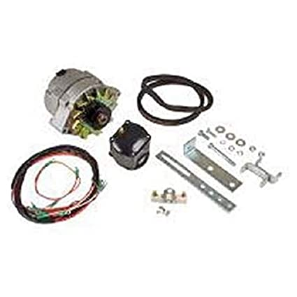 amazon com: tisco sma ford 2n 8n 9n 6 volt to 12 volt conversion kit for  models with front mount distributor: garden & outdoor