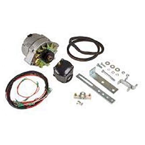 Ford 8n Tractor Alternator - Tisco SMA Ford 2n 8n 9n 6 Volt to 12 Volt Conversion Kit for Models with Front Mount Distributor