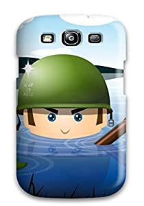 Heidiy Wattsiez's Shop Durable Defender Case For Galaxy S3 Tpu Cover(war Is Hell)