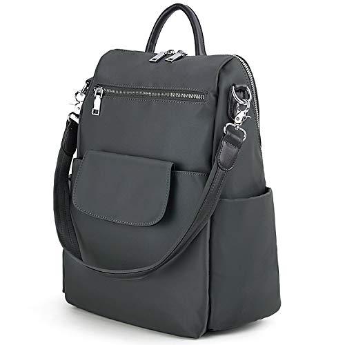UTO Women Backpack Purse 3 Ways Oxford Waterproof Cloth Nylon Ladies Rucksack Shoulder Bag ()