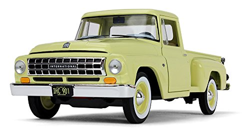 (First Gear 1/25 Scale Diecast Collectible Sunshine Yellow 1963 International C1100 Pickup (40-0420))