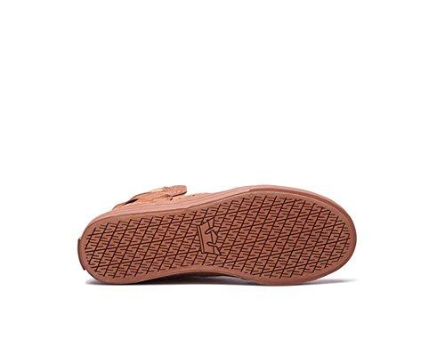 Sneaker uomo S18091 Patina Brown Skytop Supra 7HO4xEO