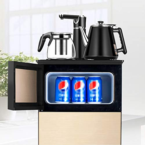 Hot Water Dispensers Household Vertical hot Water Dispenser Bedroom Water Dispenser Cold and Heat Energy Saving Small Multi-Function Automatic hot Water Dispenser Intelligent hot Water Dispenser by Combination Water Boilers Warmers (Image #1)
