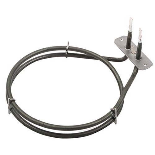 Leisure CK90F232 CS100C510 CS100F520 CS110F722 2 Turn Fan Oven Cooker Heater Element 1600W