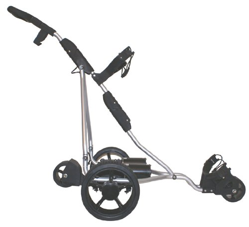 Kolnex Electric Golf Caddy. Complete Remote Control - Model LTD400 - White frame. Choice of 2 colors.