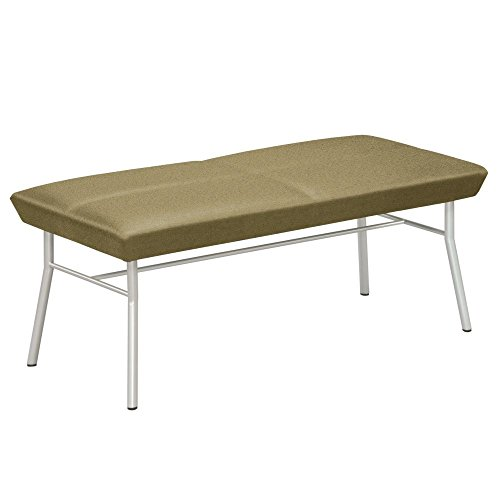 Uptown Two Seat Fabric Bench Dimensions: 45