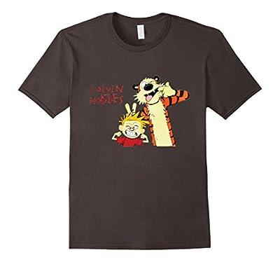 Funny Ca-lvin Tee Ho-bb-es T-shirt