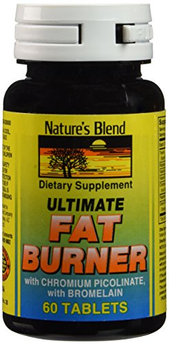 (Nature's Blend Ultimate Fat Burner with Chromium Picolinate 60 Tablets )