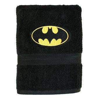 Batman DC Comics Juego de Toalla Negrol Bordado Personalizado Toalla de mano 70x130cm: Amazon.es: Hogar