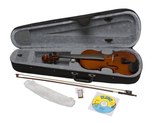 eMedia My Violin Starter Pack, Full size (5 sizes available) by eMedia