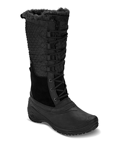 The North Face Women's Shellista III Tall Insulated Boot Tnf Black & Tnf Black