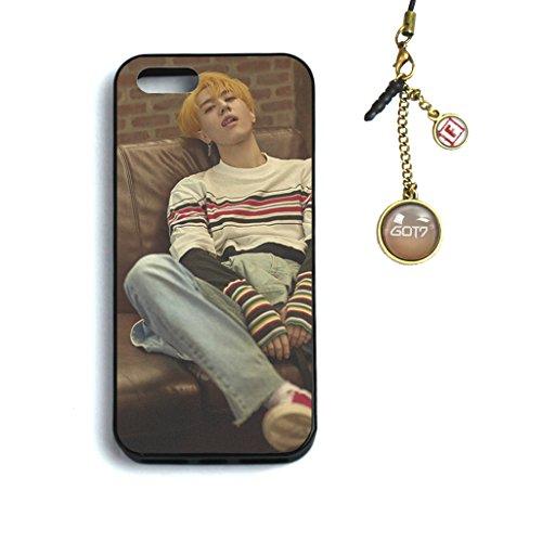 Fanstown KPOP GOT7 7 For 7 iPhone 5/5s/se case + Dust plug charm (E11) by Fanstown (Image #1)