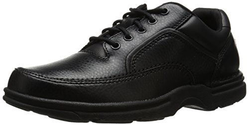 Rockport Men's Eureka Walking Shoe, Black, 10.5 2E US