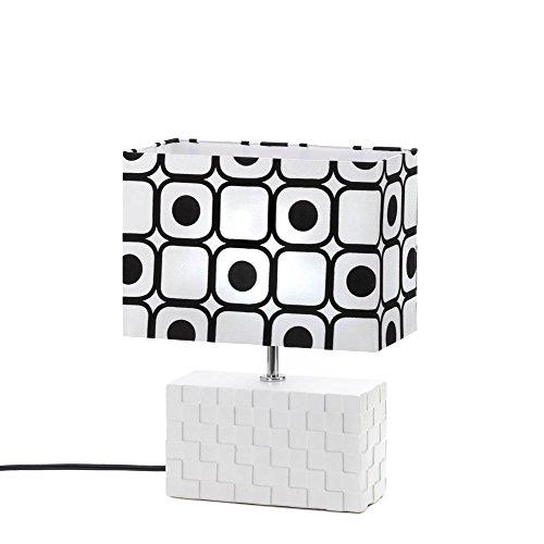 (Smart Living Company 10015531 Geometric POP Art Table LAMP, Multicolor)