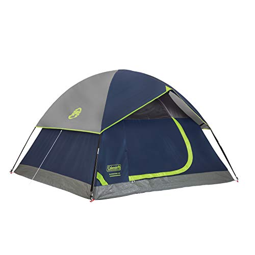Coleman 4-Person Dome Tent for Camping | Sundome Tent with