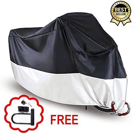 MASO Housse de Protection imperm/éable pour Moto v/élo /électrique Scooter Taille M//L//XL