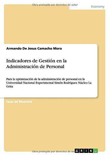 Descargar Libro Indicadores De Gestión En La Administración De Personal Armando De Jesus Camacho Mora