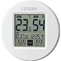 CITIZEN シチズン 温度計 湿度計 時計付き ライフナビプチA 8RD208-...
