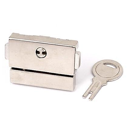 eDealMax a15123000ux0436 Toggle Latch Maleta cajón cerrojo Cajas cierre de barra bloqueo cierre tono de Plata