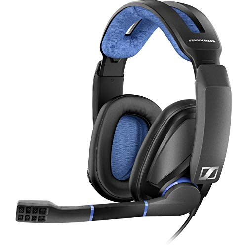 EPOS Sennheiser GSP 300 Gaming Headset with Noise-Cancelling Mic, Flip-to-Mute, Comfortable Memory Foam Ear Pads…