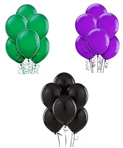 Hulk Inspired Coordinating Latex Balloons (30 Balloons) by Party Supplies