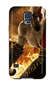 Maria Julia Pineiro's Shop Best Galaxy S5 Case Cover Skin : Premium High Quality Kratos In God Of War Case
