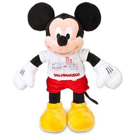 Disney Mickey Mouse San Francisco Tee Plush - - Disneyland Store Anaheim