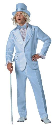 Blue Tuxedo Top Hat (Rasta Imposta Dumb and Dumber Harry Dunne Tuxedo Costume, Blue, One Size)