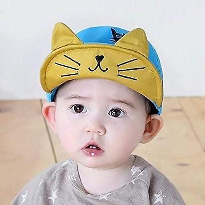zhuzhuwen Sombrero de Sol para bebé Masculino y Femenino, Gorra ...