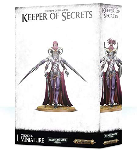 Citadel Daemons of Slaanesh Keeper of Secrets Warhammer Age of Sigmar